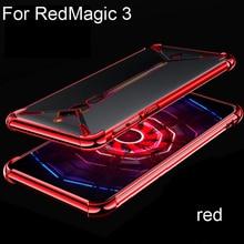 Для Nubia Red Magic 3 игровая подставка ультра тонкий мягкий чехол для zte Nubia RedMagic 3 NX629J игровой Чехол для мобильного телефона Чехлы для задней панел...