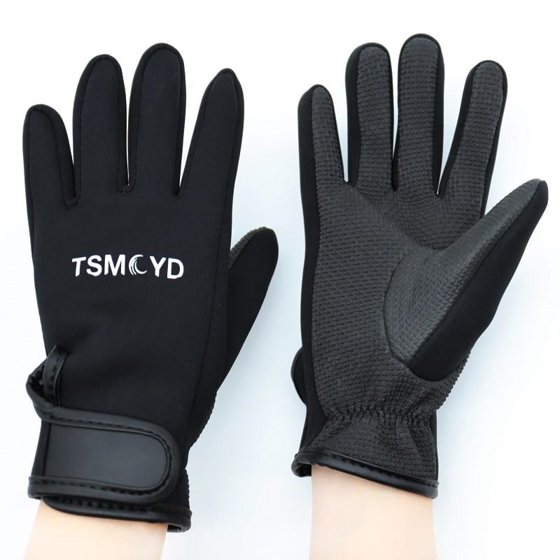 Dámské a pánské plavecké a potápěčské rukavice 1,5 mm neoprenové plavecké potápěčské rukavice protiskluzové teplé plavecké šnorchlové surfové rukavice