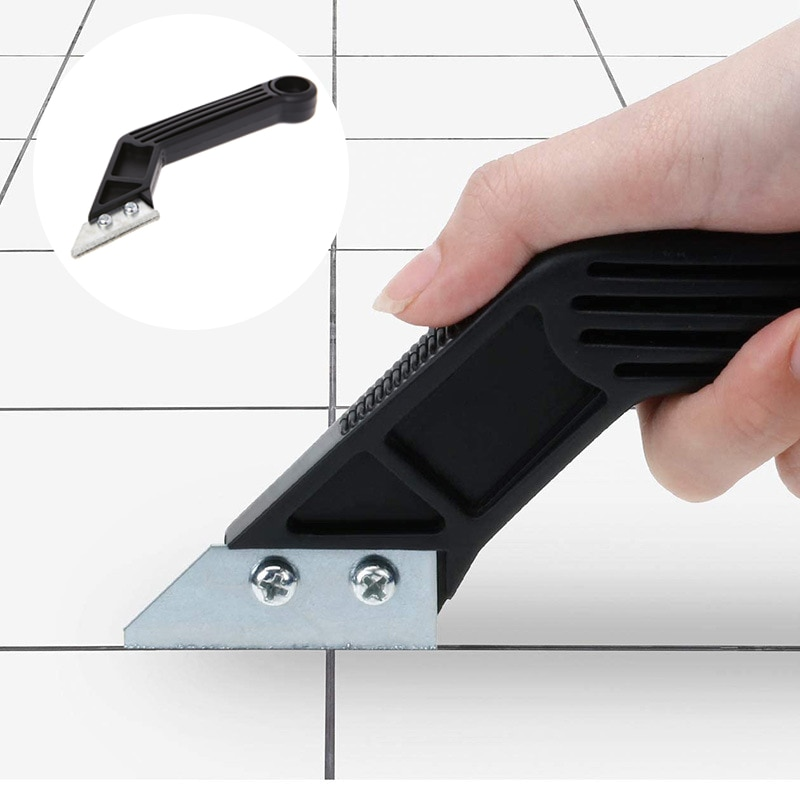 Tile Grout Cleaning Grout Remover Tile Grout Saw Grout Rake Hand Saw Tungsten Carbide Blades Hand Tool for Cleaning electric grout remover tile grout saw rake removal scraper floor wall tile remover for bathroom kitchen caulking grouting tool