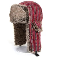 women fur hats winter thick warm ears faux fur russian ushanka hat fashion knitted bomber caps reindeer polychromatic new