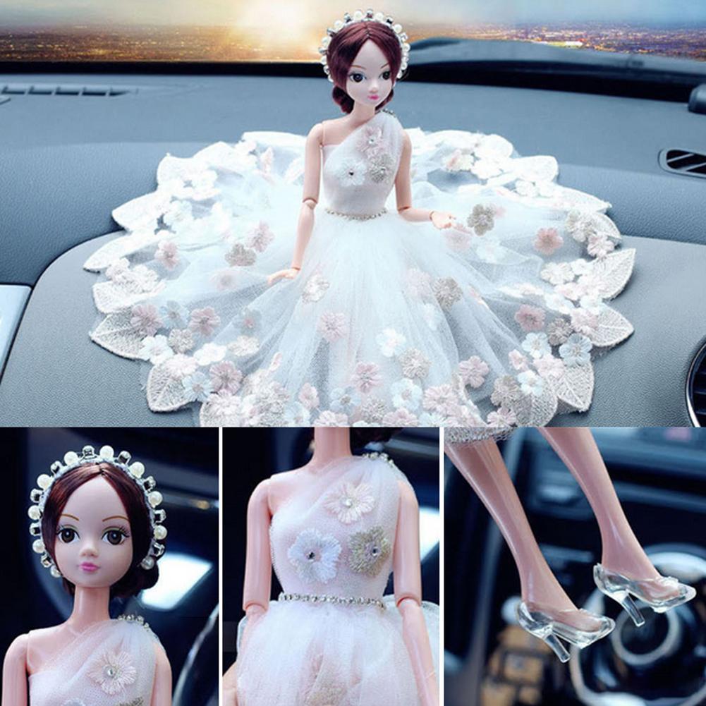 Inerior del coche de la novia de la boda de la manera, accesorio del ornamento de la exhibición del Inerior, regalo de la novia de alta definición