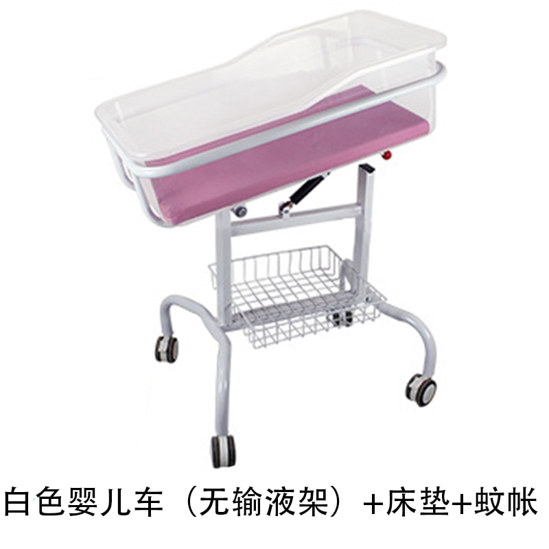 083hospital baby medical crib driver cart bed yuezi center clubhouse abs transparent care bed newborn enlarge