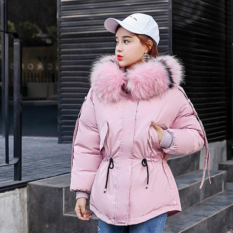 Pas cher en gros 2019 nouveau hiver vente chaude femmes mode veste chaude décontractée femme bisic manteaux L1960