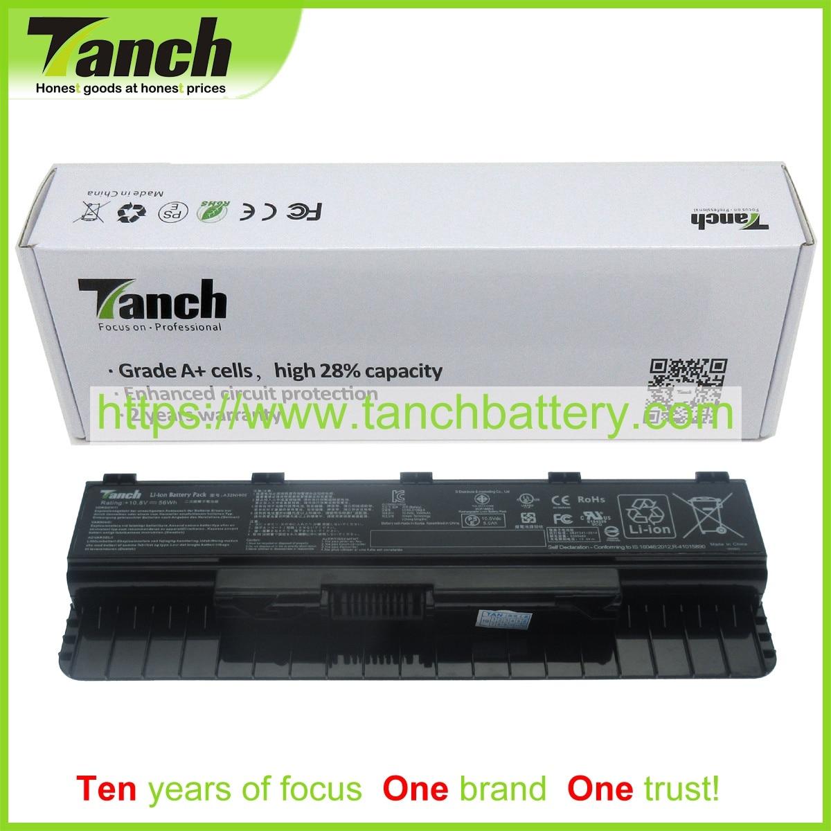 Tanch-بطارية كمبيوتر محمول 6 خلايا ، لـ ASUS G551 ، A32N1405 ، LC32SD128Q ، N551JK ، JX ، VW ، ROG ، G771 ، GL551J ، GL771JW ، JK ، 10.8 فولت