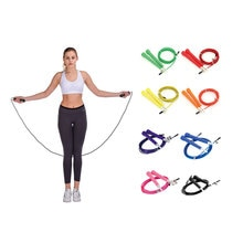 New product 3M rope skipping steel wire rope adjustable high speed ABS handle rope skipping training