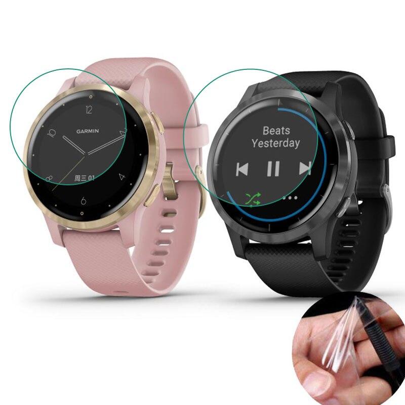 5x Мягкая прозрачная защитная пленка для Garmin Vivoactive 4/4S GarminActive S Watch Vivoactive 4, Защитная пленка для экрана (без стекла