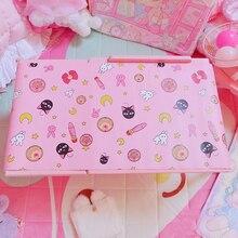 Schöne Japan Anime Sailor Moon Maus Pad Tragbare Gaming Mauspad Wasserdicht PU Leder Schreibtisch Grand Matte Gamer
