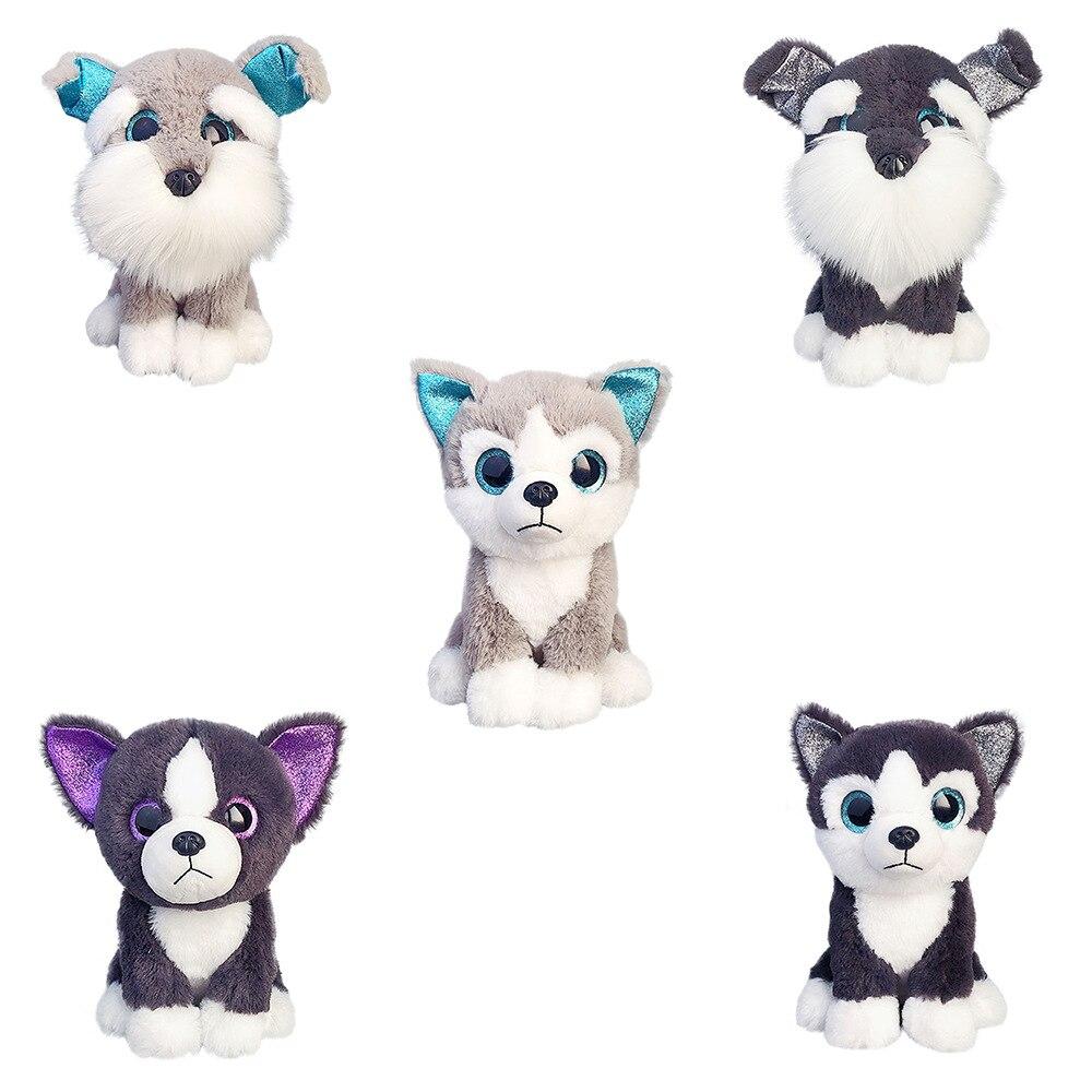 Новая модель собаки, 25 см, плюшевые игрушки, хобби, мягкие набивные животные, мягкие плюшевые игрушки для детей, рождественский подарок