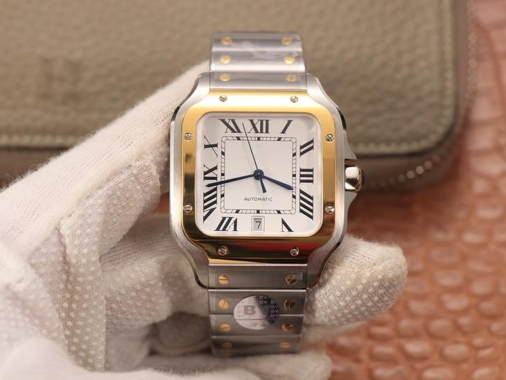 Replica Men Watches Cartier- (Men's Large) Case: 316 Material Dial 18K Gold Men's Top-quality New Lu