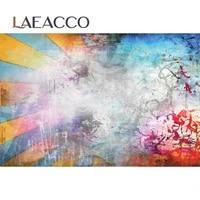 laeacco graffiti wall scene photography background customized portrait photocall photographic backdrop for photo studio