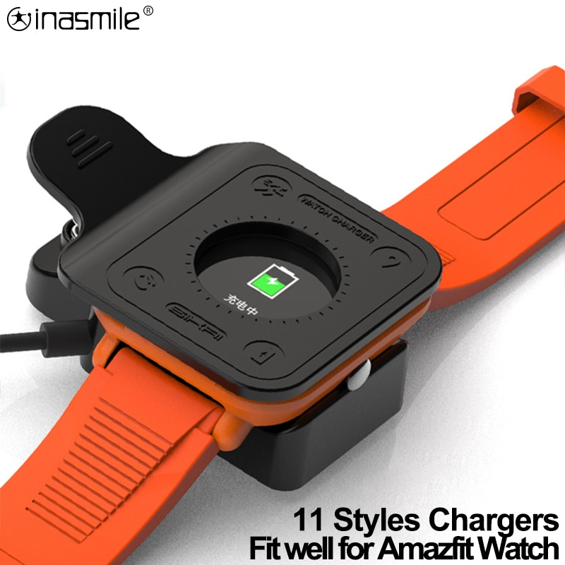 Charge USB Adapter Station Portable fast Charging Cable for For Huami Amazfit Bip S Pace Stratos 2 3 GTR GTS T-Rex Verge lite
