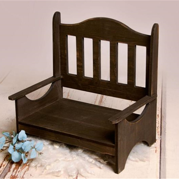 Newborn Photography Props Chair  Wood Basket Bed Photography Furniture Baby Photography Studio Accessories enlarge