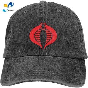 3 Pcs Cobra Gi Joe Adjustable Baseball Caps Denim Hats Retro Cowboy Hat Cap For Men Women Sport Outdoor