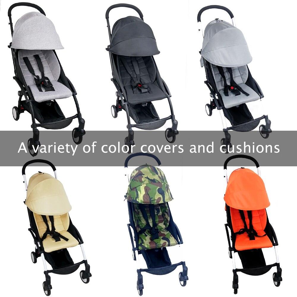 Babyzen-غطاء عربة الأطفال ، مرتبة 175 درجة ، Yoyo Yoya Babytime ، مع جيب خلفي بسحاب ، ملحقات عربة الأطفال