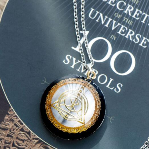 Original Hexagram Energy Crystal Orgon Pendant EMF Protection Ad Meditation Yoga Steven Universe Chakra Crystal Jewelry Necklace