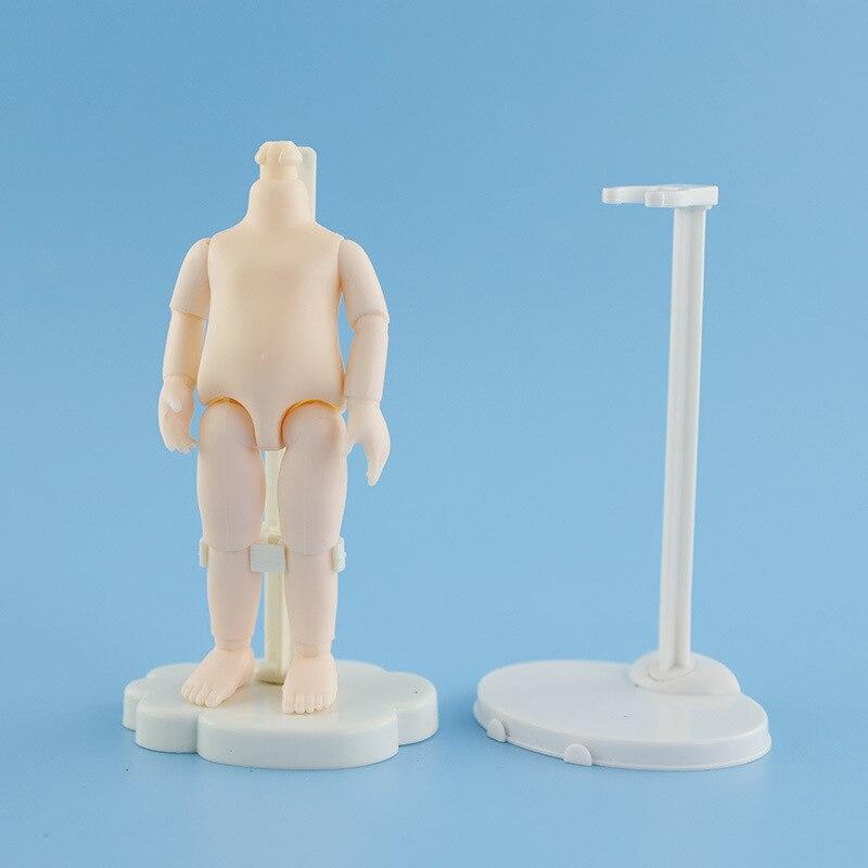 5 шт. 12 см аксессуары для кукол подставка пластиковая для 16 см BJD кукла OB11 тело