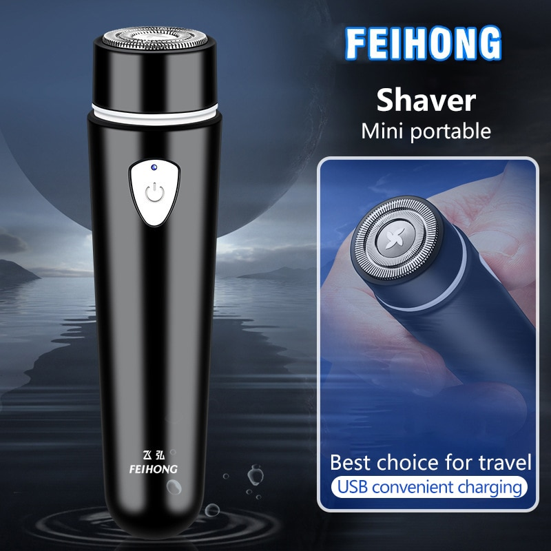 Mini Portable Electric Shaver Ladies  Epilator  Rechargeable USB Hair Remover Razor Men Beard Cutter Hair Clipper enlarge