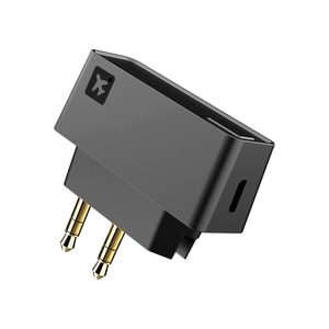 Bluetooth 5.0 Airplane Airline Flight Adapter Stereo A2DP Transmitter For Bose Bluetooth Headphones Earphones Earbuds Headsets