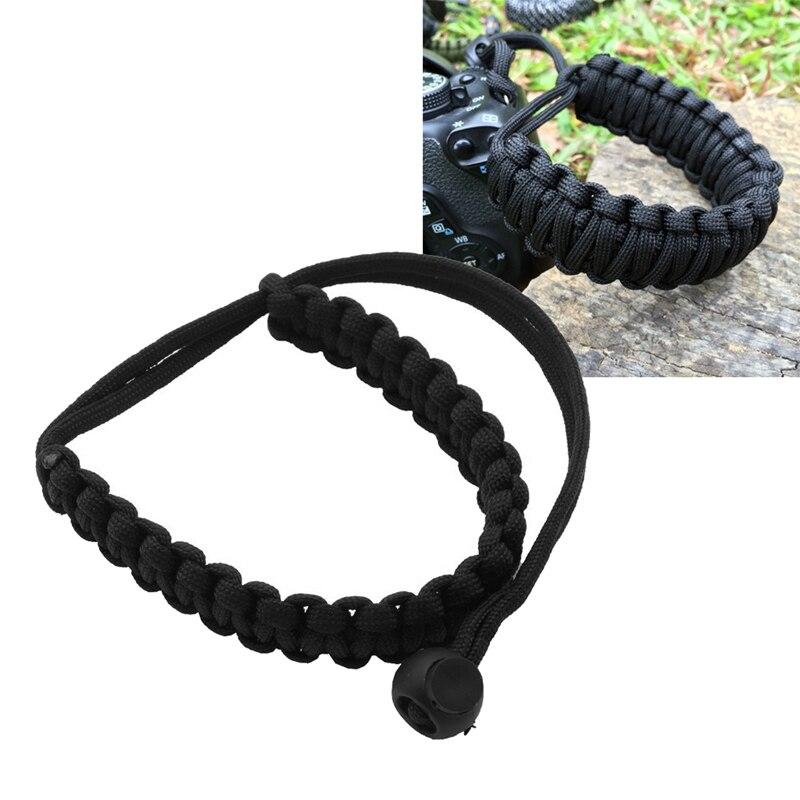 Digital Camera Wrist Hand Strap Grip Braided Wristband Band for DSLR Cameras Binoculars Stuff Outdoor Sport Accessories Tools
