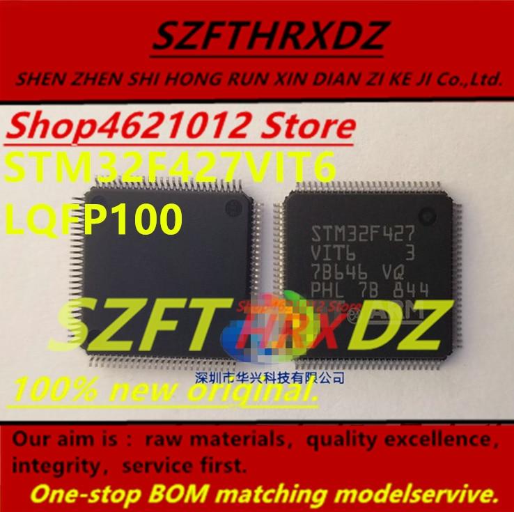 SZFTHRXDZ 100% original nuevo 2019 + (2PCS-5PCS-10PCS) STM32F427VIT6 STM32F427 VIT6 LQFP100