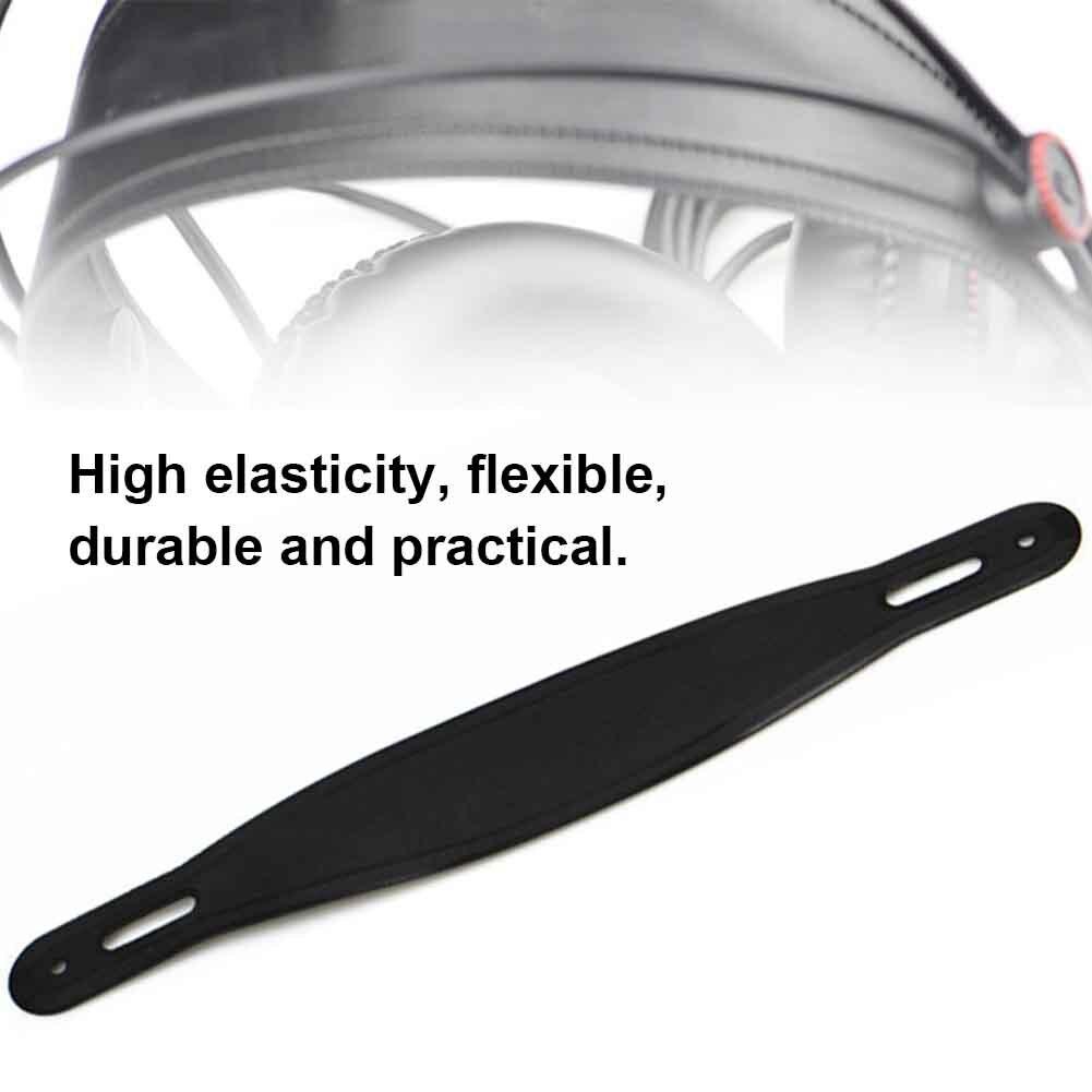 Almohadón de repuesto para mejorar el sonido de los bajos almohadilla para los oídos a prueba de polvo banda elástica para la cabeza con ruido funda suave música para HD-681B Superlux