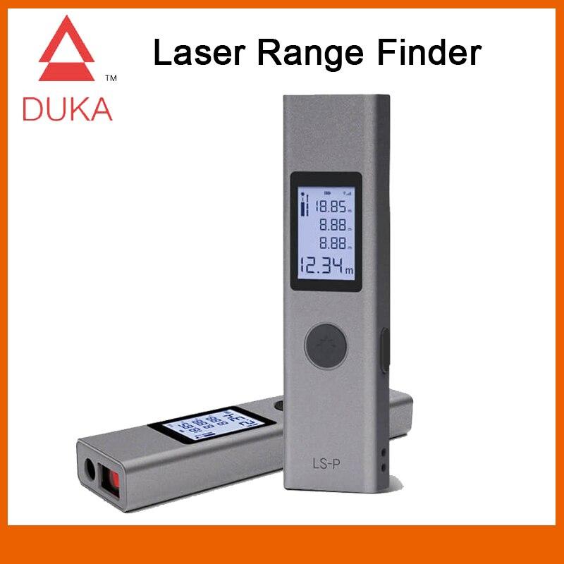 Duka 40m laser range finder LS-P usb flash de carregamento range finder medição alta precisão medidor de distância a laser