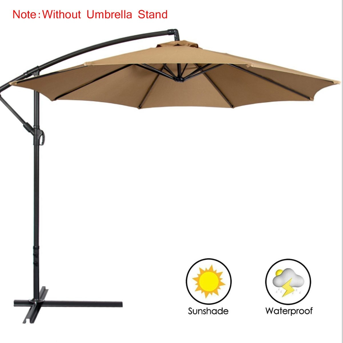 300x300CM Umbrella Cover Waterproof UV Protection Oxford sunshade Garden Patio Umbrella Cover sun Cantilever Cover Umbrella cove
