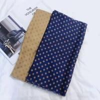 2020 new lady long dot print fringe scarf shawls soft warm polka spot wrap scarves hijab 2 color free shipping