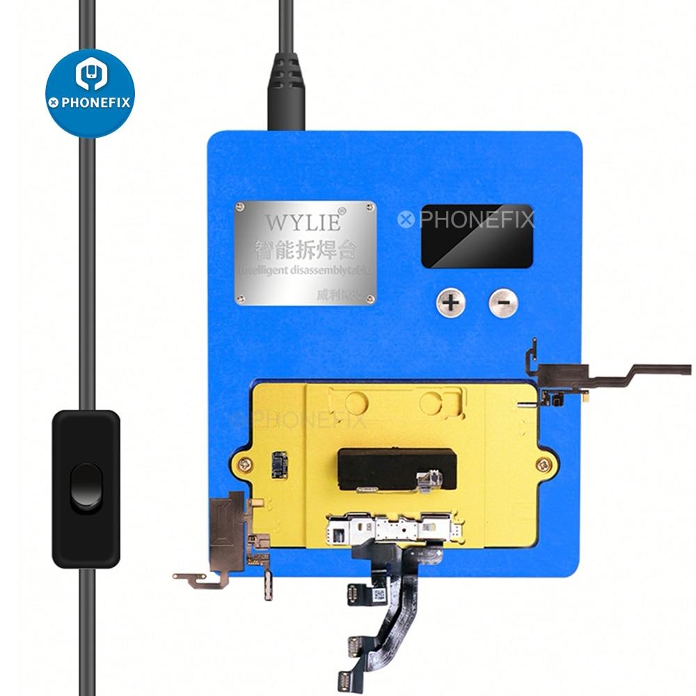 WYLIE K85 التسخين منصة الوجه ID نقطة مصفوفة إصلاح ل آيفون X/XS/ماكس/11pro اللوحة الأوسط الطبقات محطة ديسولديرينغ