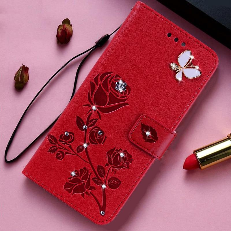 Чехол-книжка с тиснением 3D розы для Oneplus One Plus One 1 2 3 3T 5T 6T 7 8 Pro 7T X A0001 A3003 A5010, кожаный чехол-бумажник