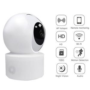 1080P HD Camera 360° VideoSurveillance Infrared Night Vision Mini Camera Wifi Camera Home Security P2P for Smart Home Security