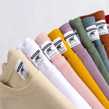 High Qualtity Oversized 9.9oz 280g/m² heavy t-shirt for men short sleeve tee  cotton solid color tr
