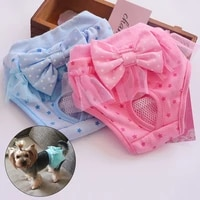 dog diapers pet sanitary physiological pants washable durable female small dog puppy shorts diaper pet underwear pet products