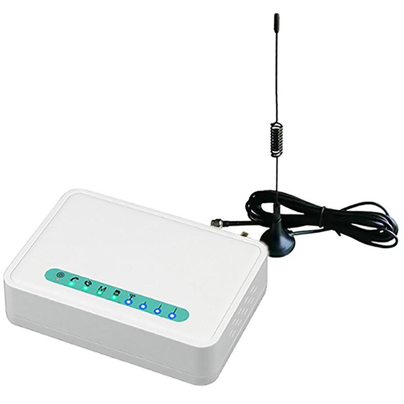 Fixed Wireless Terminal Quad Band GSM SIM Card Phone Line Desktop Caller Dialer GSM850/900/1800/1900MHZ EU Plug