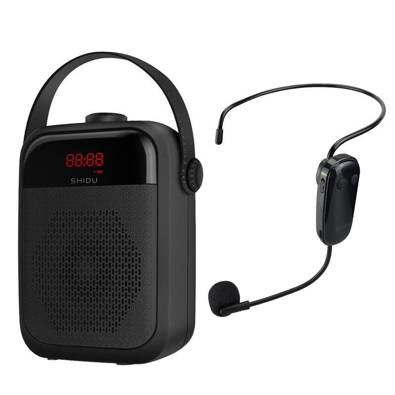 SHIDU-مكبر صوت محمول ، 25 واط ، لاسلكي ، ميكروفون ، صوت ، بلوتوث ، مكبر صوت ، مكبر صوت ، تسجيل TWS ، راديو FM ، H6