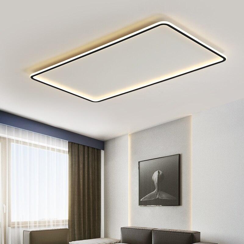 TCY الذهب/أسود/أبيض أضواء سقف ليد حديث لغرفة المعيشة غرفة نوم Led مصباح السقف إضاءة داخلية تركيبات عكس الضوء