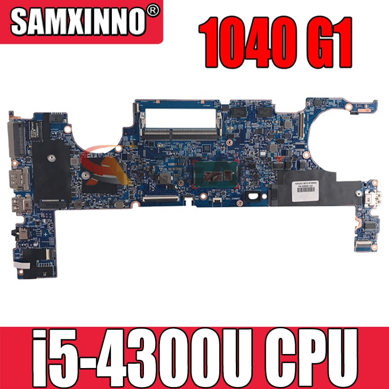 ل HP ELITEBOOKFOLIO 1040 G1 اللوحة المحمول 803004-601 i5-4300U اللمس W8 برو 100% اختبار بالكامل