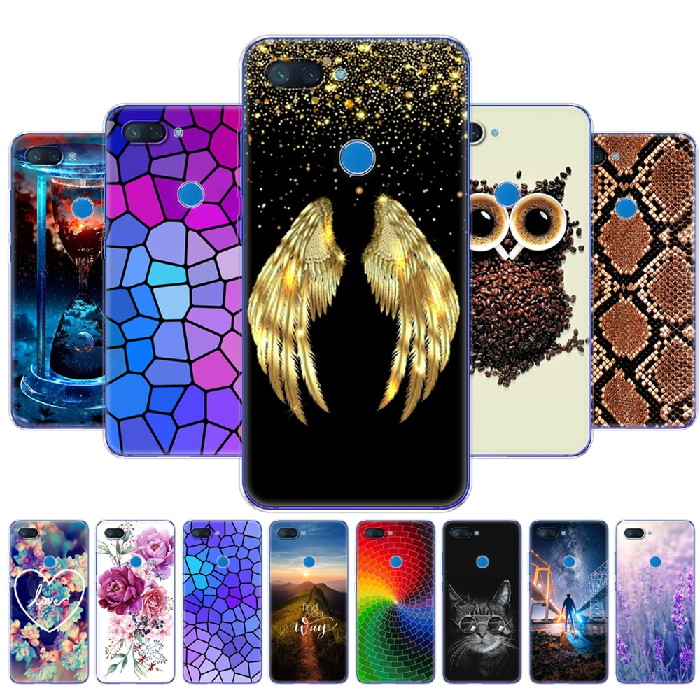 For Xiaomi mi 8 LITE Case 6.26 inch Case For Xiaomi mi 8 lite Back Phone Cover For Xiaomi mi8 Coque