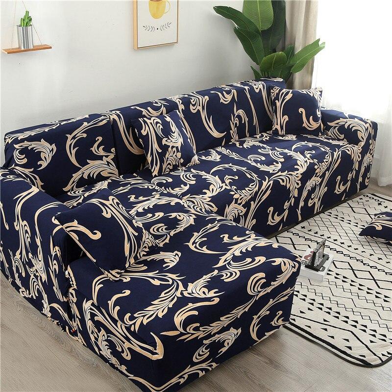 Fundas para sofá en forma de L, fundas para sofá en forma de L, fundas para sofá tipo Diván, sala de estar