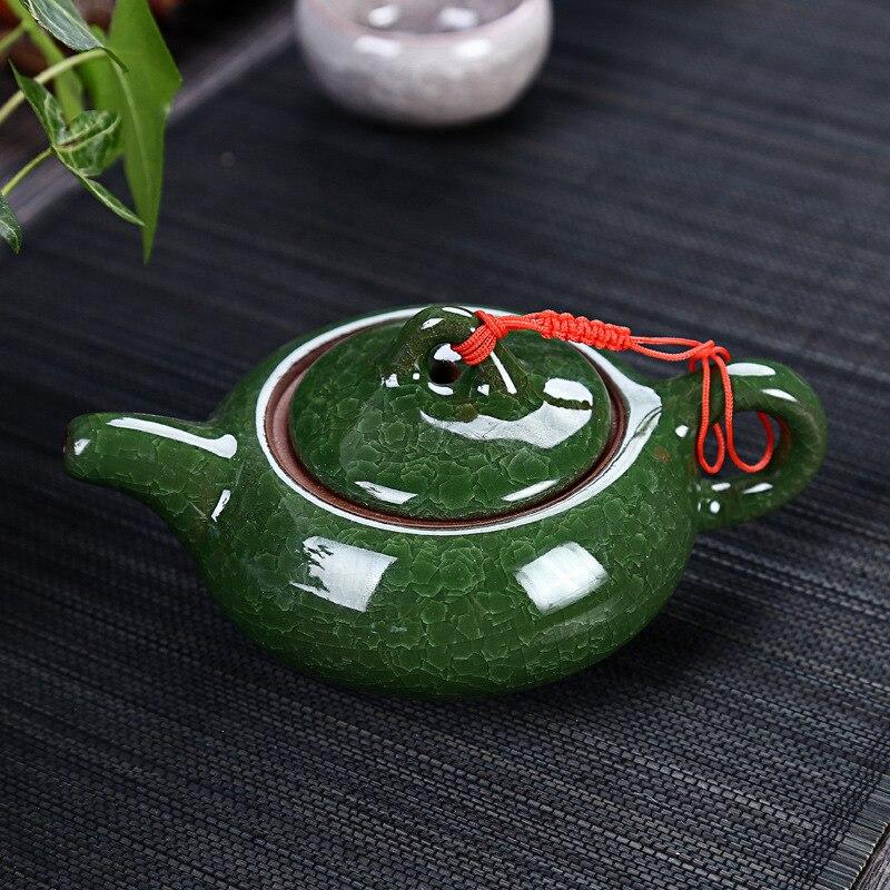 Celadon طقم شاي الأسماك السيراميك غلاية شاي سيراميك كوب الأسماك الصينية الكونغ فو الشاي الشعب الصيني السيراميك الكونغ فو طقم شاي BV78