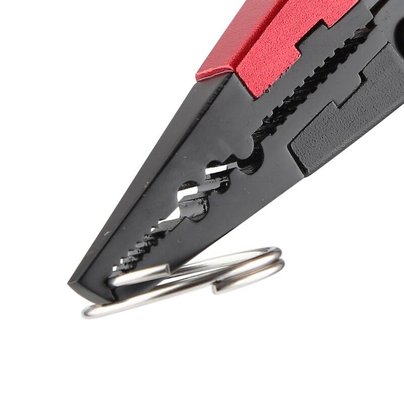 Pinze da pesca in lega di alluminio di nuovo Design taglierine ad anello diviso e cordino da pesca