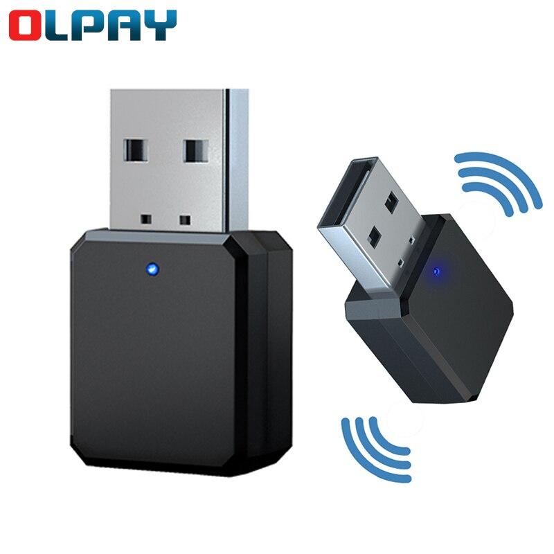 KN318 receptor de Audio Bluetooth 5,1 doble salida AUX estéreo USB de...