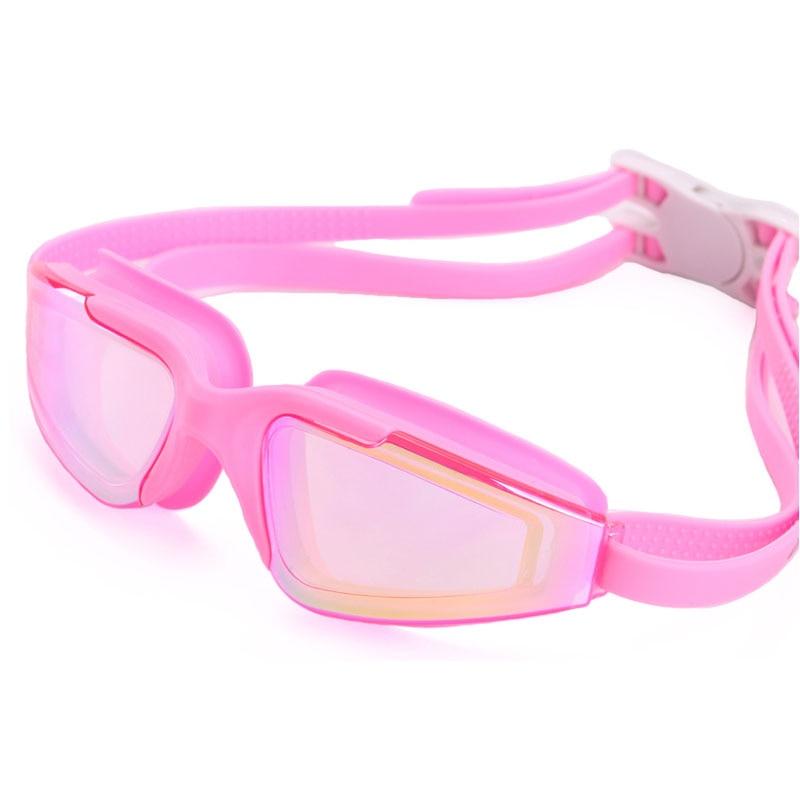 Плавательные очки для плавания взрослых детей для мужчин женщин профессиональный Водонепроницаемый Анти-туман УФ Natacion очки для плавания