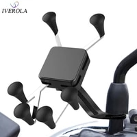 universal mount motorcycle holder motorcycle rear mirror mount for gopro smartphone moto holder for xiaomiiphone xr