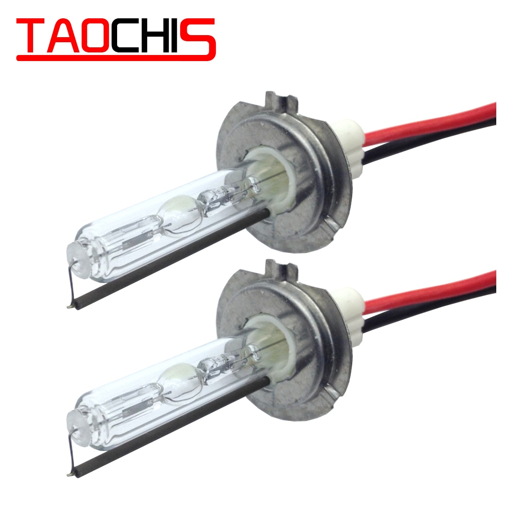 Taochis 12V 100W HID Xenon lamps H1 H3 H7 H8 H9 H11 9005 9006 880 881 Car Head light replacement bul