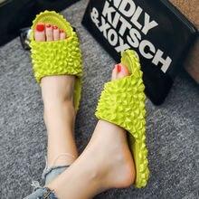 Fruit Sandals Designer Beach Shoes Women Summer Slides Sandals Woman Spike Sandals Flat Flipflops Girls Boys Funny Sandals