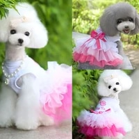 pet lip love pet skirt lace sweety apparel clothes fashion party cute dog costume