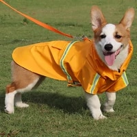 raincoat for dogs pet clothes waterproof dog rain coat jacket reflective dog raincoat clothes for small medium large dogs