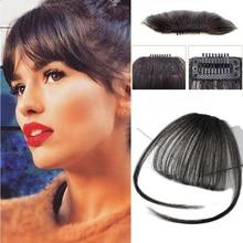 Fake Air Bangs Clip In Bangs Synthetic Fringe Wig Women Clip In Hair extension Extension Hair Accessories