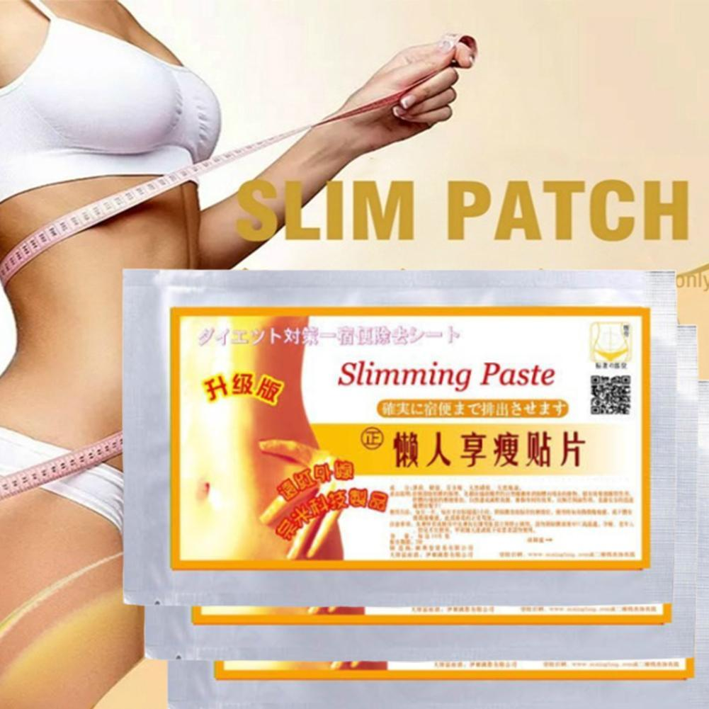 10pcs Slimming Patches Natural Herbs Fast Burning Fat Lose Weight Products Navel Slim Stickers Body Shaping Patches